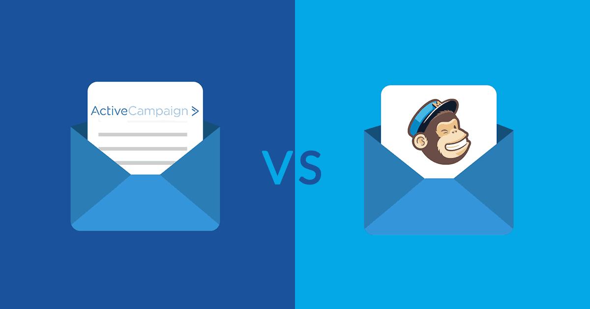 Ontdek het verschil tussen de e-mail marketing programma's ActiveCampaign en Mailchimp