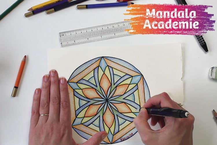Leer kunst te maken in de online Cursus Mandala's Tekenen
