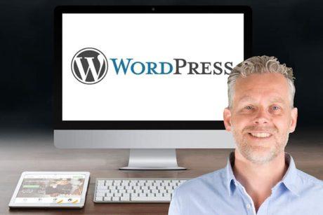 Leer in deze online cursus website maken met WordPress hoe je een eigen website bouwt
