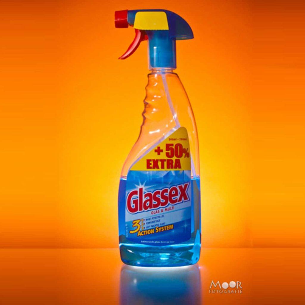 Strobist foto glassex fles