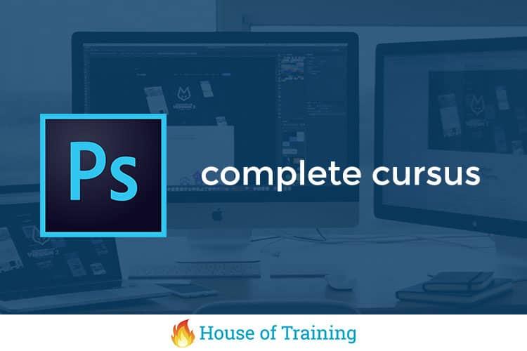 Leer alles over fotobewerking in deze complete training Photoshop