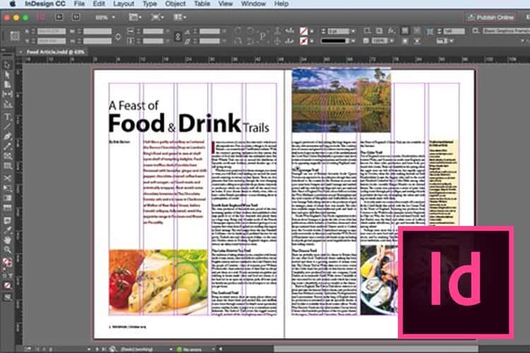 Leer hoe je met InDesign publicaties ontwerpt