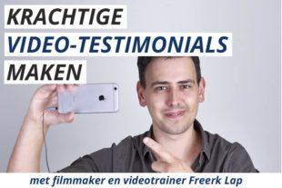 Leer Testimonial Video's Maken in deze online cursus
