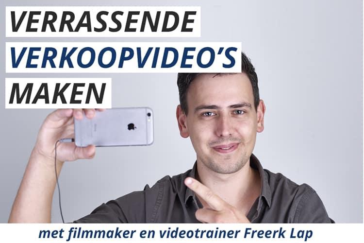 Leer verrassende verkoopvideo's te maken