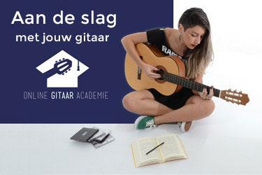 Leer muziek maken in deze gratis cursus gitaar leren spelen
