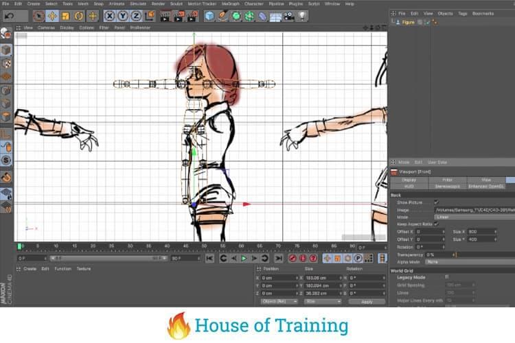 Leer een 3D anime karakter animeren in Cinema 4D
