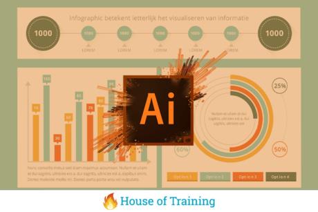 Infographics maken met Adobe Illustrator Soofos