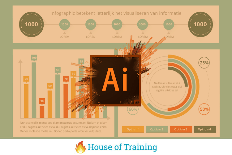 Leer infographics maken met Adobe Illustrator