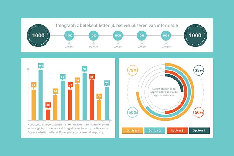 Leer alles over communiceren met infographics in deze online cursus