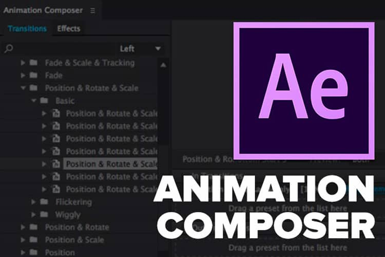 Animation Composer: Leer animeren in After Effects