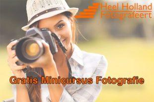 Gratis beginnerscursus fotografie