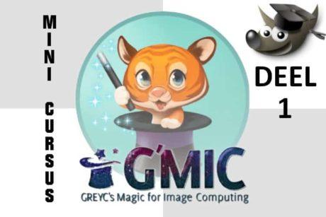 Leer in deze minicursus hoe je de gratis plug-in G'Mic installeert en gebruikt in GIMP