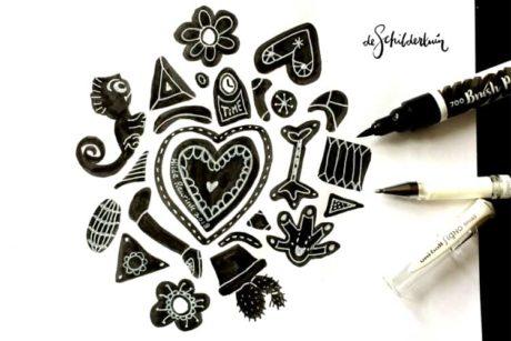 Leer in deze cursus tekenen met lef en plezier