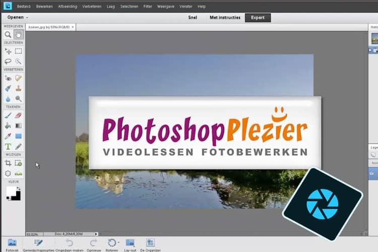 Leer in deze online cursus alles over Photoshop Elements 2019.
